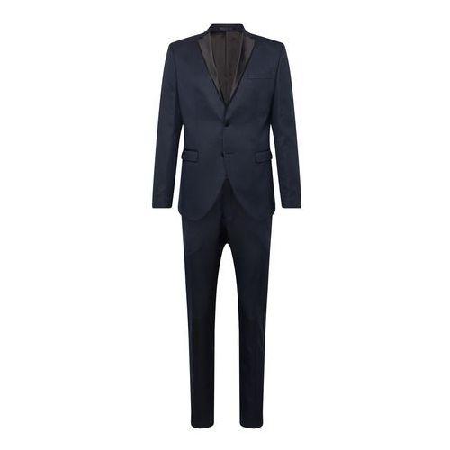 garnitur 'slhslim-ryanlogan navy struc tux suit b' granatowy, Selected homme