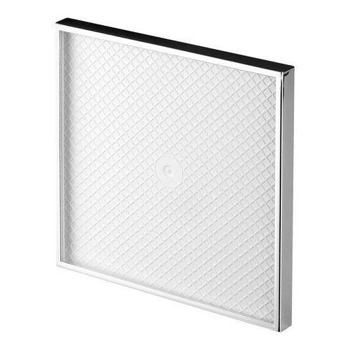 Cichy wentylator łazienkowy silent + wymienne panele czołowe różne funkcje: higro,timer model: control, średnica: 125 mm, panel frontowy: pod płytkę marki Awenta