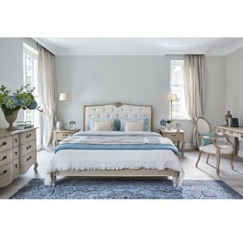 Łóżko 180x200 EMMANUELLE beige
