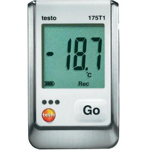 Rejestrator temperatury testo 175 T1 0572 1751 Kalibracja Fabryczna (bez certyfikatu)