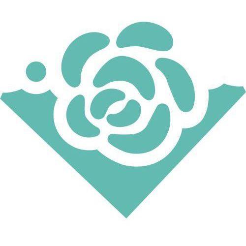 Dziurkacz ozdobny narożnikowy jcdz-212-045/3,7cm - róża marki Dalprint