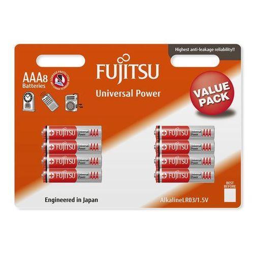 8 x bateria alkaliczna Fujitsu Universal Power LR03 AAA blister