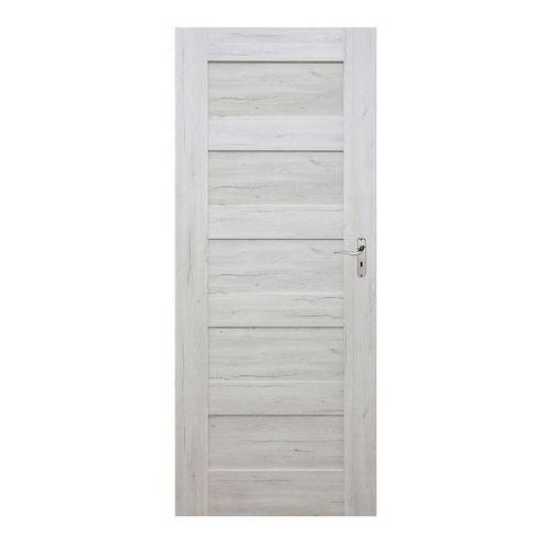 Drzwi pełne Winfloor Emma 60 lewe silver