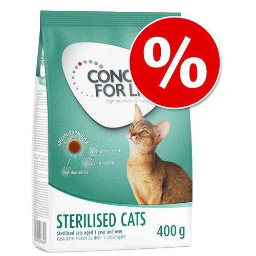 2 x 400 g Concept for Life karma dla kota w super cenie! - Light Adult