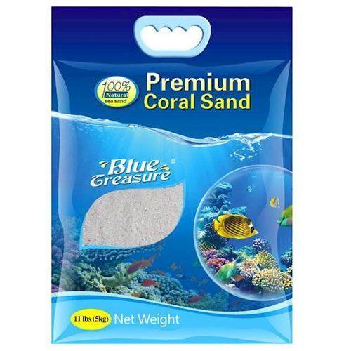 Blue treasure premium coral sand 5kg 0,5-1mm marki Dmr group robert macieja.