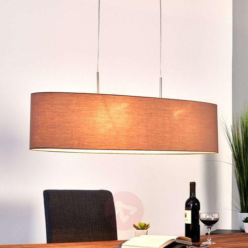 finn lampa wisząca nikiel matowy, 2-punktowe - nowoczesny - obszar wewnętrzny - finn - czas dostawy: od 2-4 dni roboczych marki Honsel