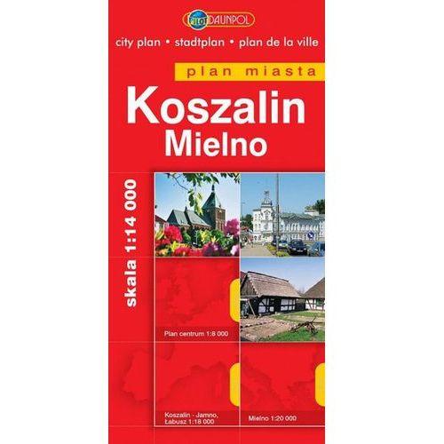 KOSZALIN, MIELNO. PLAN MIASTA (2010)