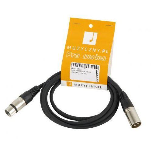 4Audio MIC 1,5m przewód mikrofonowy XLR-F - XLR-M