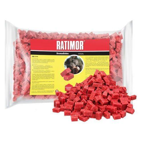 1kg Trutka na szczury, myszy, gryzonie. Ratimor bromadiolone kostka. (3830001597950)