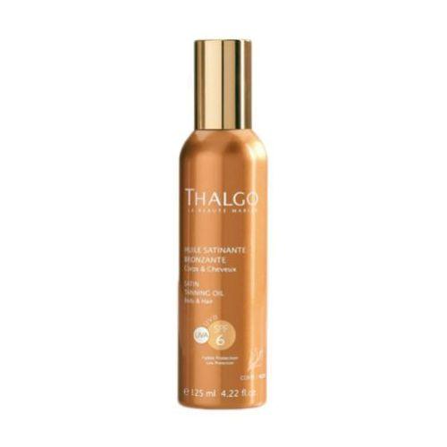Thalgo SATIN TANNING OIL SPF6 Satynowy olejek do opalania SPF 6 (VT4395) z kategorii Kosmetyki do opalania
