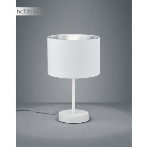 Trio Biurkowa lampka stojąca hostel 508200189 stołowa lampa nocna pasteri biała srebrna (4017807392579)