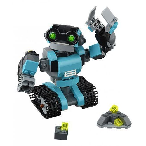 LEGO Creator, Robot-odkrywca, 31062