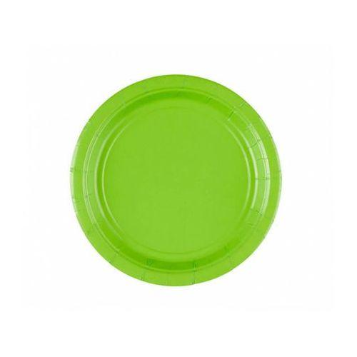 Talerzyki zielone - 18 cm - 8 szt. marki Amscan