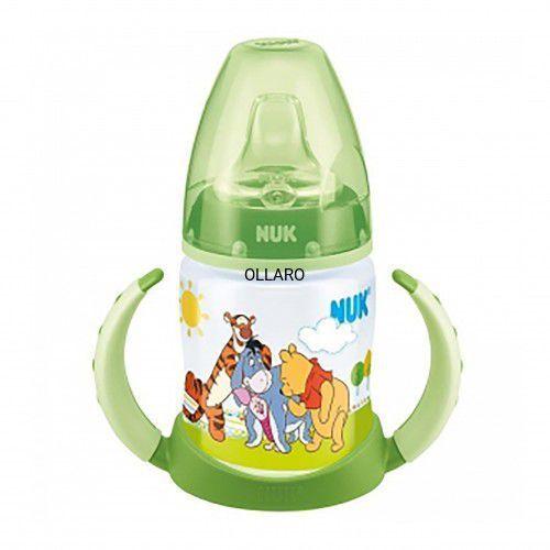 Butelka z uchwytami 150 ml  puchatek zielony marki Nuk