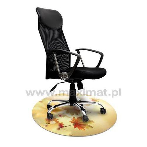 Maximat Mata ochronna pod krzesło z grafiką 017 - okrągła średnica 100cm, grubość 1,3mm