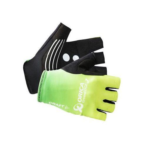 orica greenedge - rękawiczki rowerowe męskie marki Craft