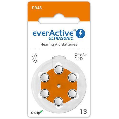 6 x baterie do aparatów słuchowych everActive ULTRASONIC 13 (5902020523161)