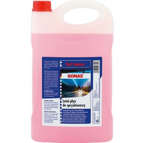 Letni płyn do spryskiwaczy SONAX (Red summer) 4 litry