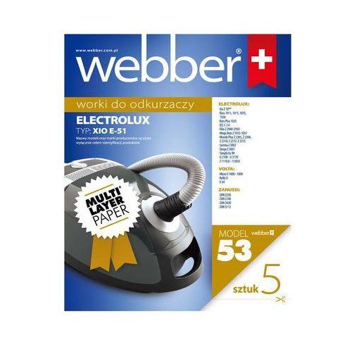 Worek do odkurzacza WEBBER 53 (5 sztuk) (5907265002297)