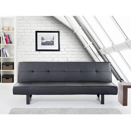 Luksusowa sofa kanapa derby czarna wyprodukowany przez Beliani