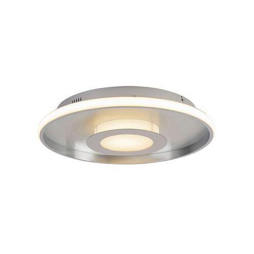 Lampa sufitowa aluminiowa 44 cm wraz z diodą LED z pilotem - Oculus