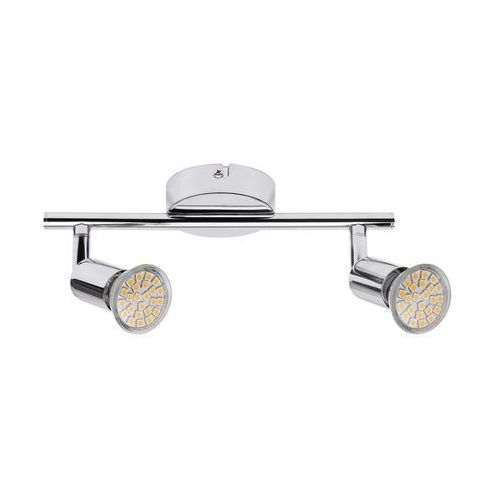 Plafon lampa oprawa sufitowa Rabalux Norton Led 2x3W GU10 chrom 6987 (5998250369877)