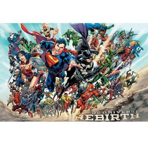 Gf Liga sprawiedliwości justice league rebirth - plakat