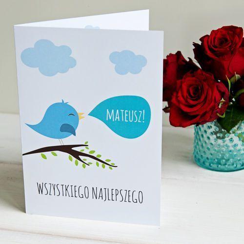 Wszystkiego najlepszego chłopiec - kartka z życzeniami - Kartka z życzeniami
