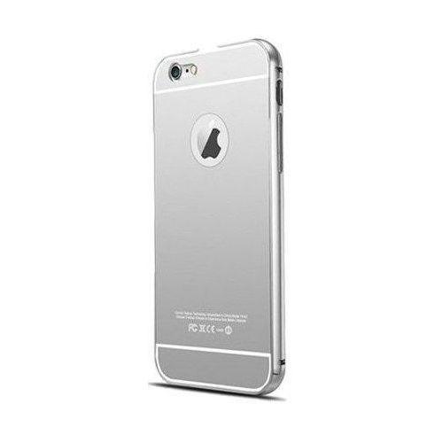 Mat bumper Obudowa bumper metal apple iphone 6 / 6s srebrny