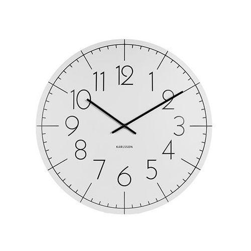 Zegar ścienny Blade Numbers XL metal white by Karlsson