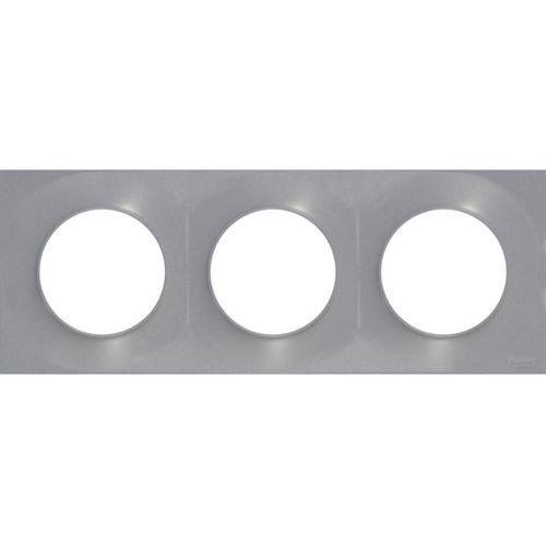 Ramka potrójna odace aluminium marki Schneider electric