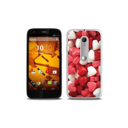 Foto Case - Motorola Moto G3 - etui na telefon Foto Case - słodkie serduszka, kup u jednego z partnerów
