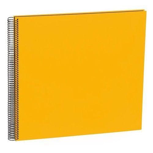 Semikolon Album na zdjęcia uni economy czarne karty duży żółty