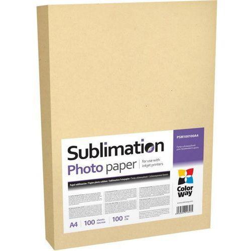 ARSEJ Papier do sublimacji ColorWay A4 100 arkuszy