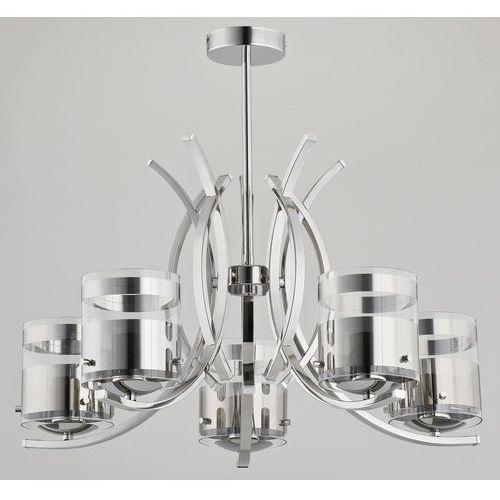 Lampa wisząca Alfa Indira 23115 zwis żyrandol 5x40W E14 chrom >>> RABATUJEMY do 20% KAŻDE zamówienie!!!, 23115