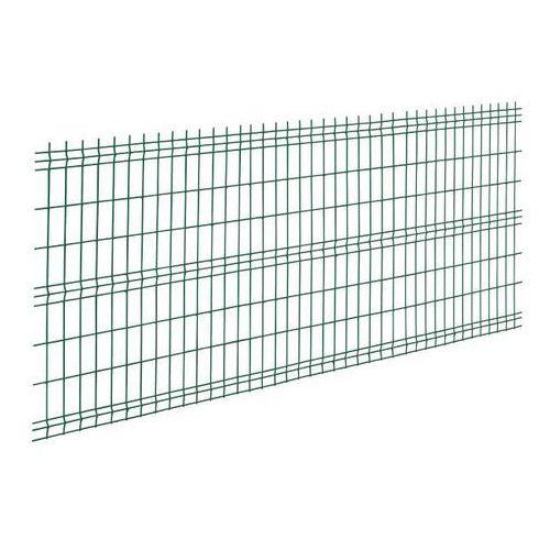 Panel ogrodzeniowy 3D 153 x 250 cm oczko 20 x 7,5 cm drut 3,2 mm ocynkowany zielony (5412298371901)
