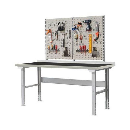 Stół roboczy robust, 300 kg, 2000x800 mm, mata gumowa marki Aj produkty