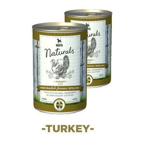 naturals z indykiem - karma dla psów, 410 g marki Bozita