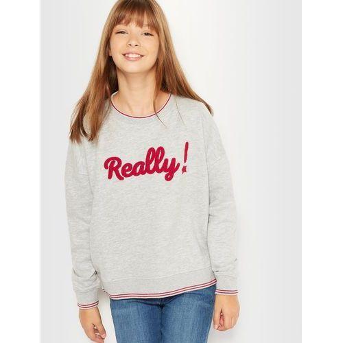 Luźna krótka bluza ''Really !'' 10-16 lat