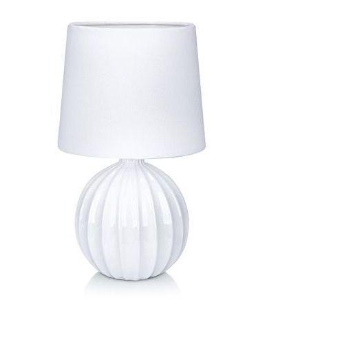 Lampa lampka oprawa stołowa melanie 1x40w e14 biała 106884 >>> rabatujemy do 20% każde zamówienie!!! marki Markslojd