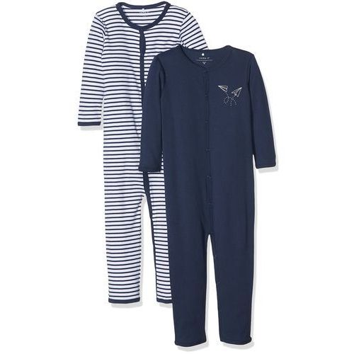 baby-młodych śpiochy 2er pack - 98 różnokolorowy (dress blues) marki Name it