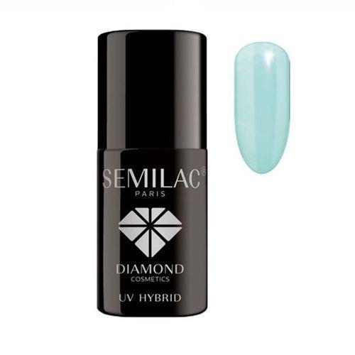 7ml diamond uv hybrid 022 mint lakier hybrydowy do paznokci marki Semilac