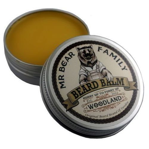 Wosk do brody i wąsów Leśny - Beard Stache Wax Woodland - 30ml - marki Mr Bear Family