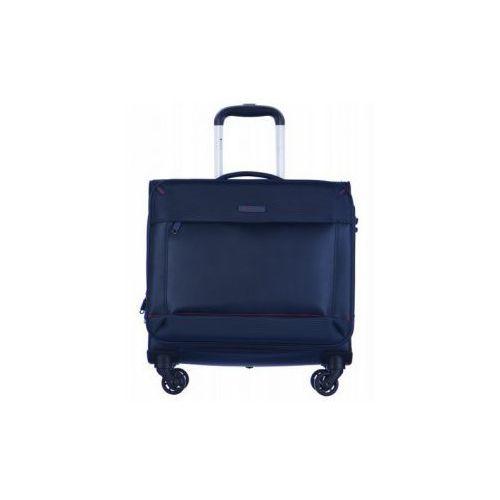 0b0bc1db66753 PUCCINI pilotka torba podróżna na garderobę i laptopa  tableta z kolekcji  AMSTERDAM 4 koła biurotransporter zamek szyfrowy