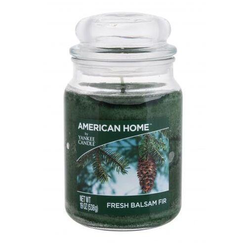 Yankee Candle American Home Fresh Balsam Fir świeczka zapachowa 538 g unisex
