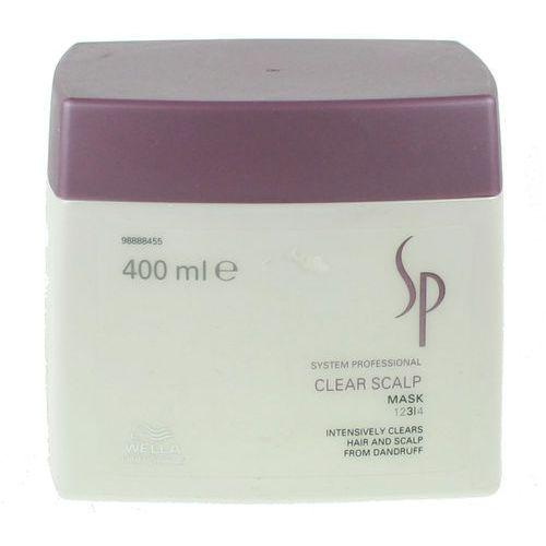sp clear scalp - maska przeciwłupieżowa 400ml marki Wella