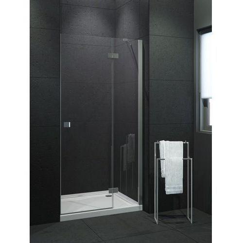 New trendy  modena drzwi prysznicowe 110x190 prawe, profile chrom, szkło czyste exk-1020 * wysyłka gratis