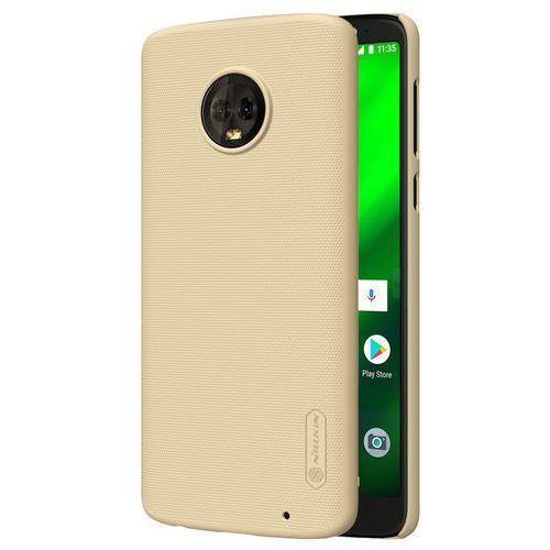 Etui Nillkin Frosted Shield Motorola Moto G6 Plus - Gold - Gold (6902048159525)