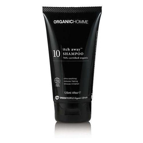 Itch away łagodzący szampon do włosów dla mężczyzn 125ml marki Green people