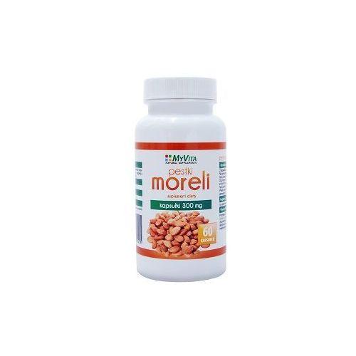 Pestki Moreli (Amigdalina, Witamina B17) 300mg (MyVita) 60 kaps., PRONESS